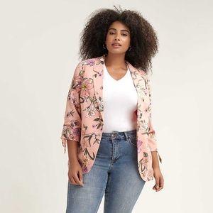 NWT Love & Legend Floral Blazer